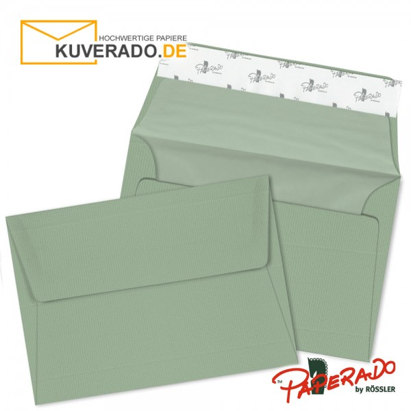 Paperado Briefumschläge eukalyptus DIN B6 haftklebend