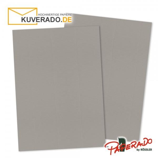 Paperado Briefpapier in taupe grau DIN A4 160 g/qm