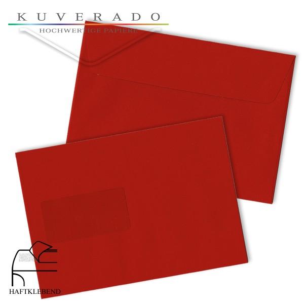 rote Briefumschläge DIN C5