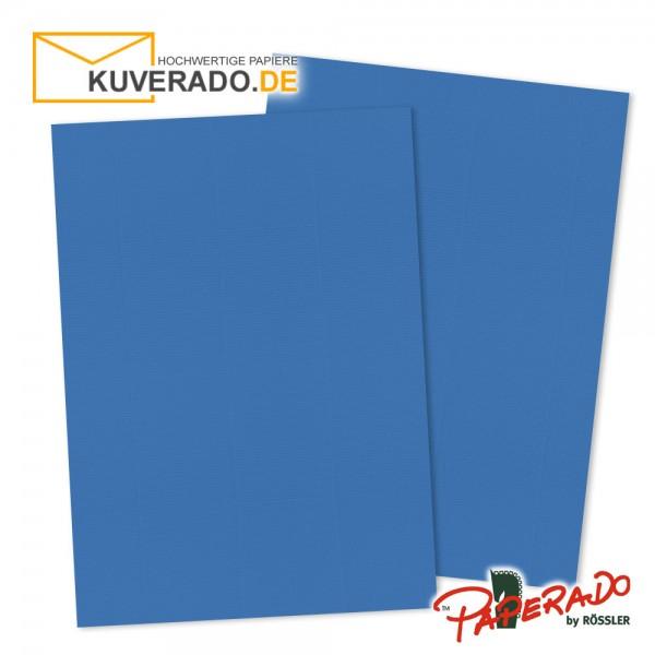 Paperado Briefkarton in stahlblau DIN A4 220 g/qm