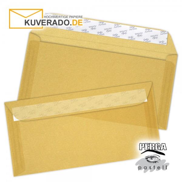 Artoz transparente Briefumschläge gold 114x224 mm