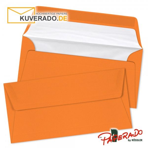 Paperado farbige Briefumschläge orange
