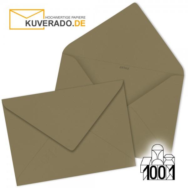 Artoz Briefumschläge olive 75x110 mm