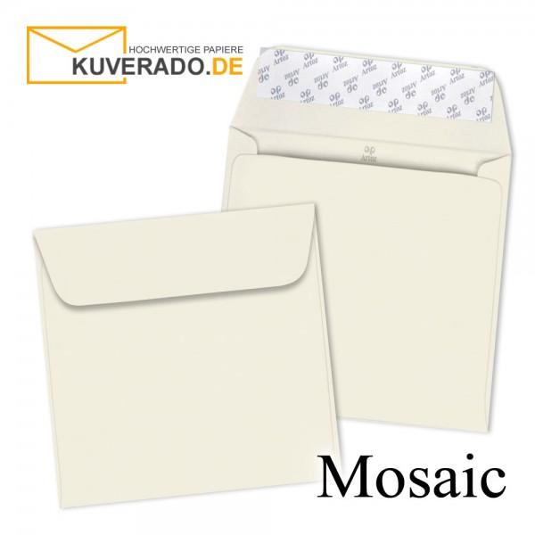 Artoz Mosaic ivory Briefumschläge quadratisch