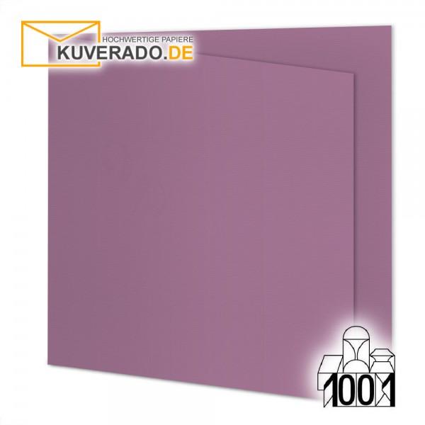 Artoz 1001 Faltkarten holunder quadratisch 155x155 mm mit Wasserzeichen