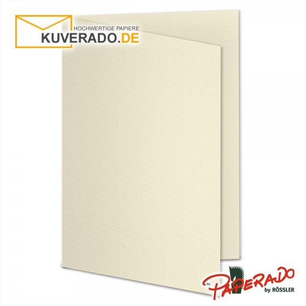 Paperado Karten in chamois beige DIN B6