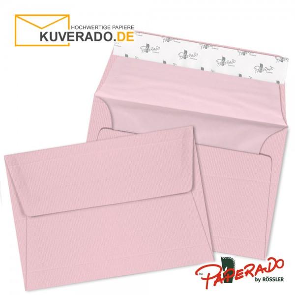 Paperado farbige Briefumschläge in rosa / flamingo DIN C6