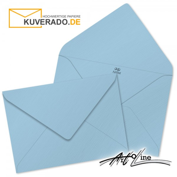 Artoz Artoline Briefumschlag in sky-blau DIN E6
