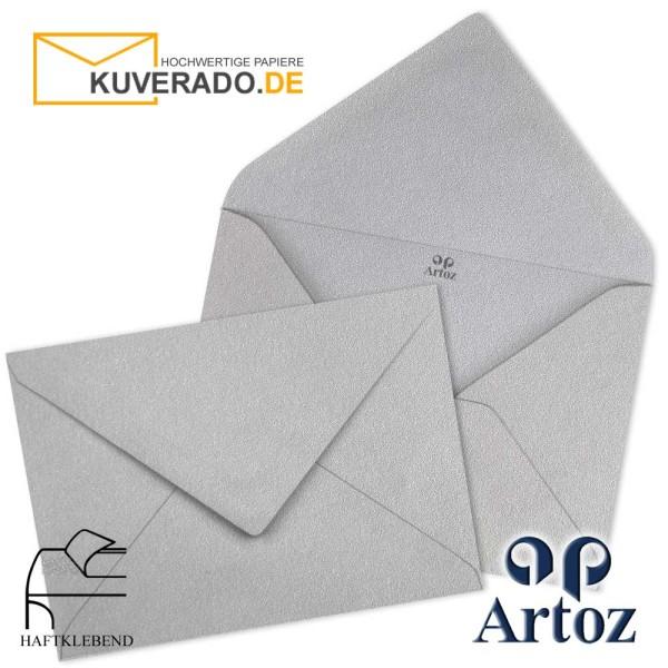 Artoz Mosaic metallic Briefumschläge in silber DIN B6