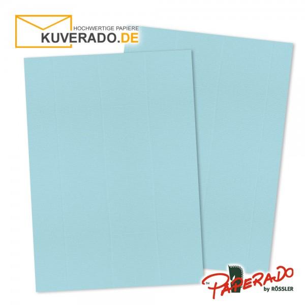 Paperado Briefkarton in aqua blau DIN A4 220 g/qm