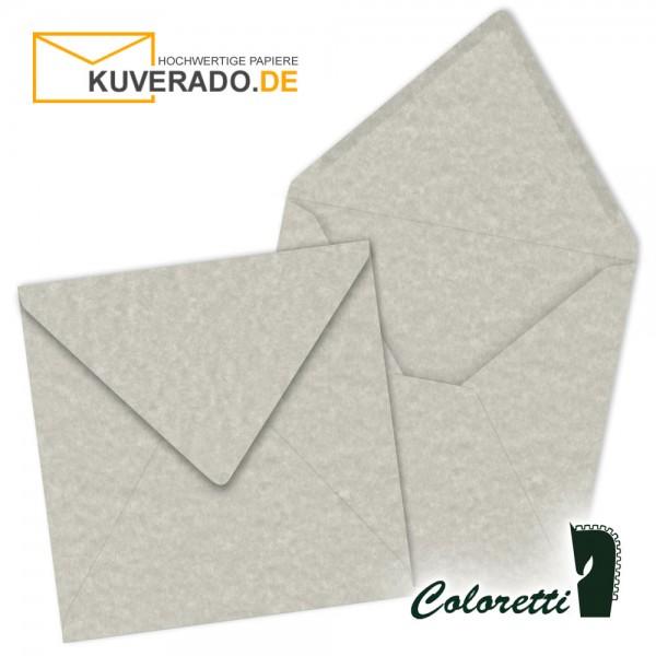 Wolkengrau marmorierte Briefumschläge in quadratisch von Coloretti