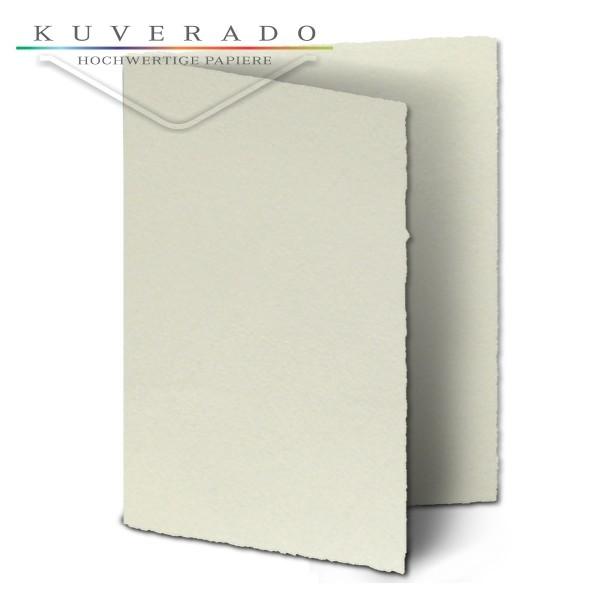 Büttenpapier Doppelkarten DIN A4#