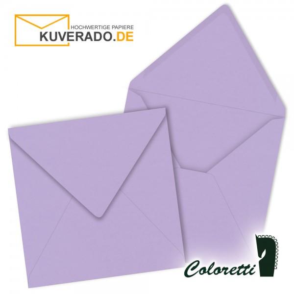 Lila Briefumschläge in lavendel quadratisch von Coloretti