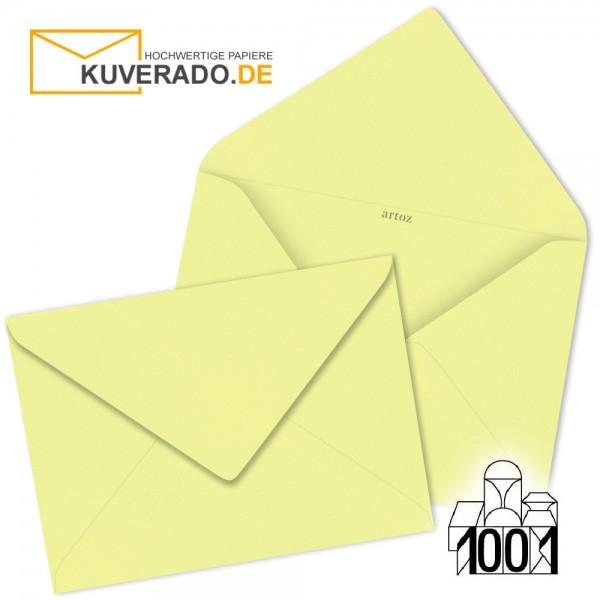 Artoz 1001 Briefumschläge citro-gelb DIN B6