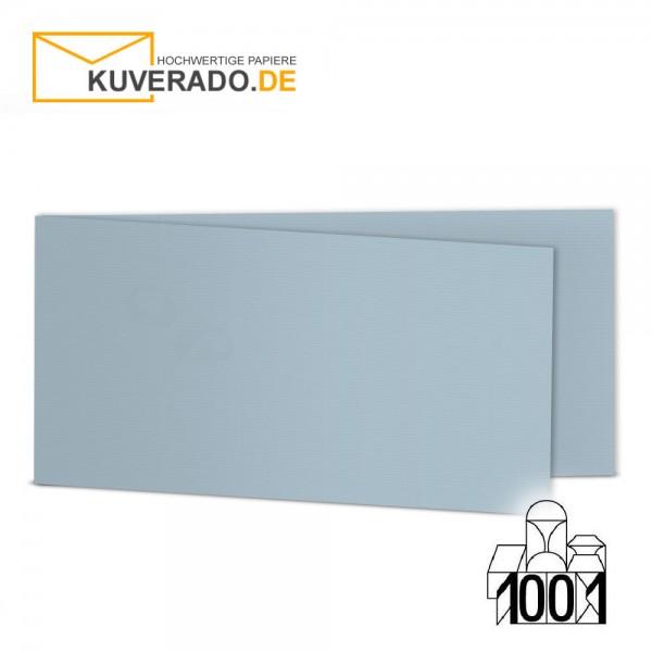 Artoz 1001 Faltkarten pastellblau DIN lang Querformat mit Wasserzeichen