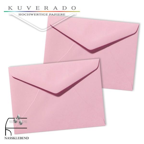 Rosa Briefumschläge (dunkelrosa) im Format 130 x 180 mm