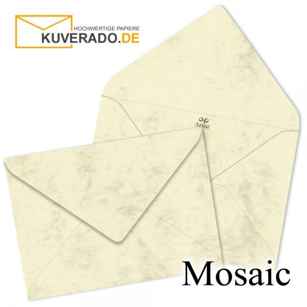 Artoz Mosaic marmorierte Briefumschläge in gelb DIN B6