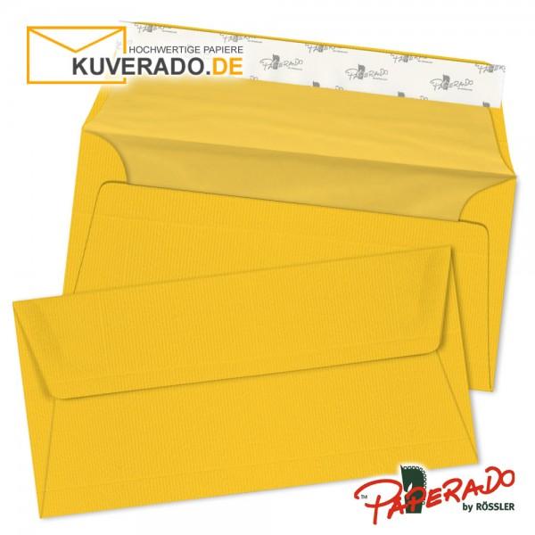 Paperado Briefumschläge ocker DIN lang