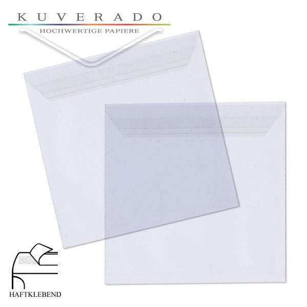Folienumschläge quadratisch im Format 160x160 mm