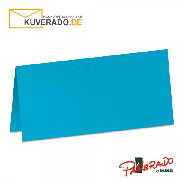 Paperado Tischkarten in pacific-blau