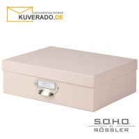 "S.O.H.O. Aufbewahrungsbox in der Farbe ""powder"""