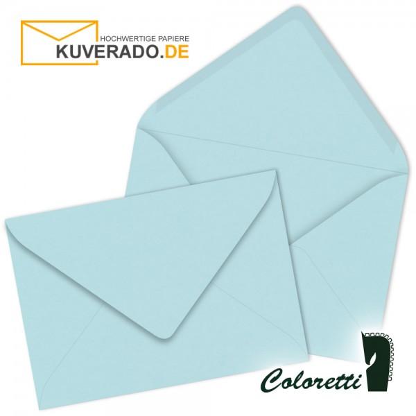 Blaue DIN C7 Briefumschläge in himmelblau von Coloretti