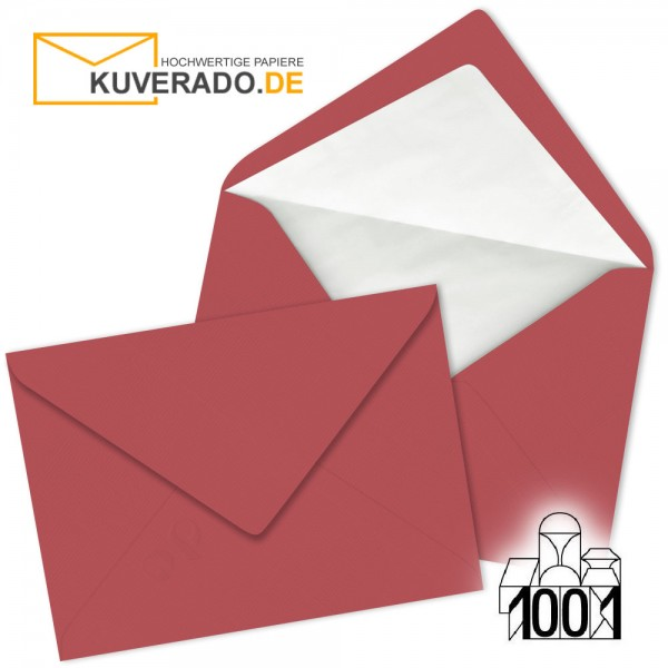 Artoz Briefumschläge baccara-rot DIN C5