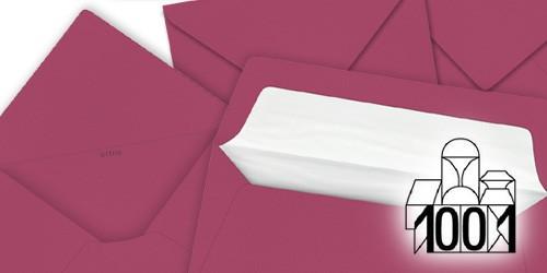 purpurrote Briefumschläge von Artoz Papier - 1001