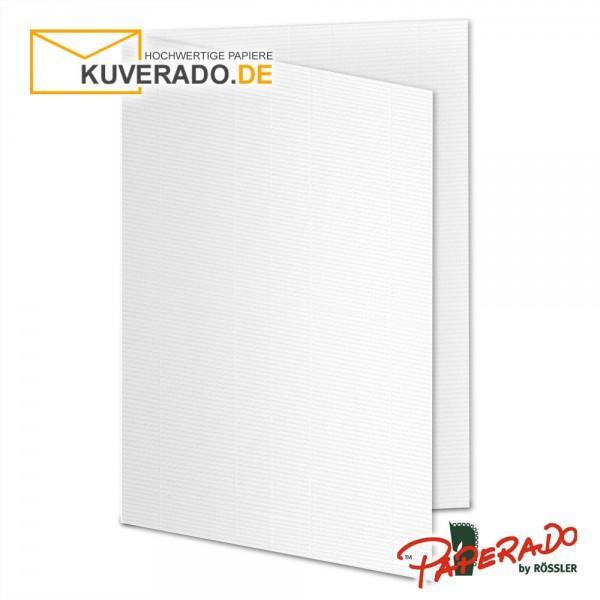 Paperado Karten in weiß DIN A6