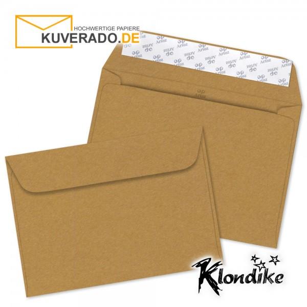 Artoz Klondike Briefumschlag in rotgold-metallic DIN C5