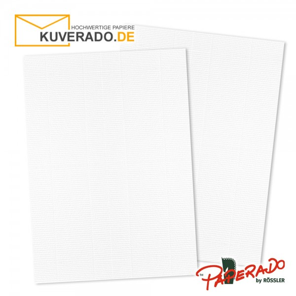 Paperado Karton DIN A3 weiß