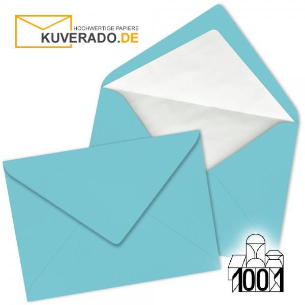 Artoz 1001 Briefumschläge türkisblau DIN C6