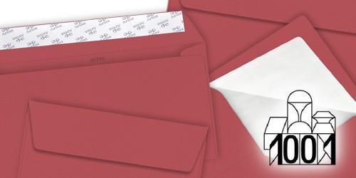 baccara-rote Briefumschläge von Artoz Papier - 1001