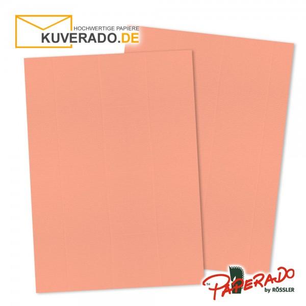 Paperado Briefkarton in coral DIN A4 220 g/qm