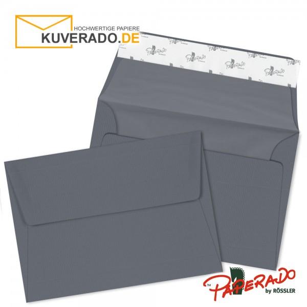 Paperado Briefumschläge schiefer grau DIN B6