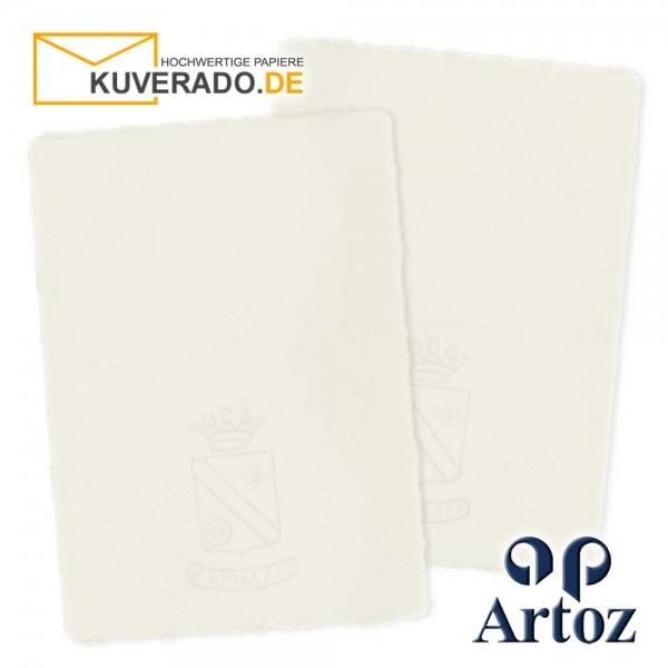 ARTOZ Corona - Briefpapier aus handgeschöpftem Büttenpapier im Format DIN C5