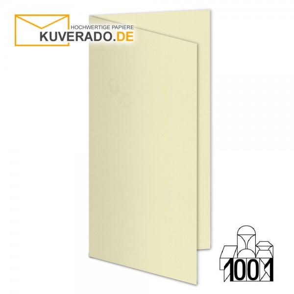 Artoz 1001 Faltkarten chamois beige DIN lang Hochformat mit Wasserzeichen