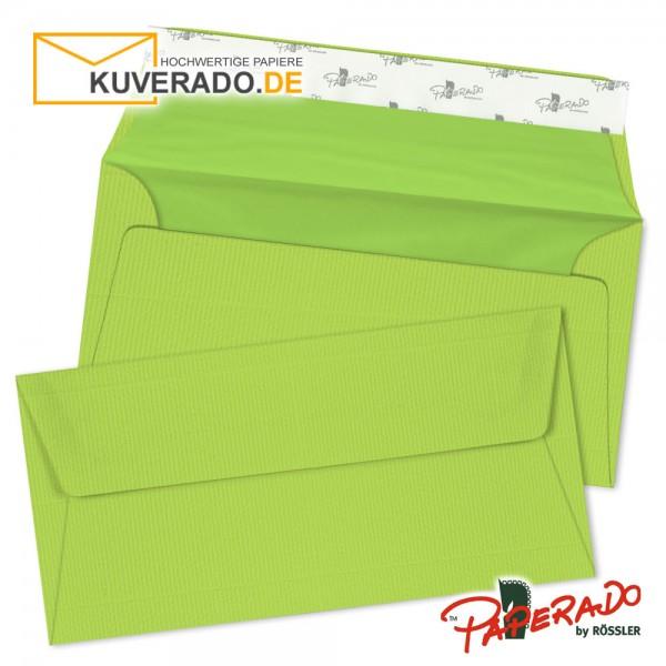 Paperado Briefumschläge maigrün DIN lang