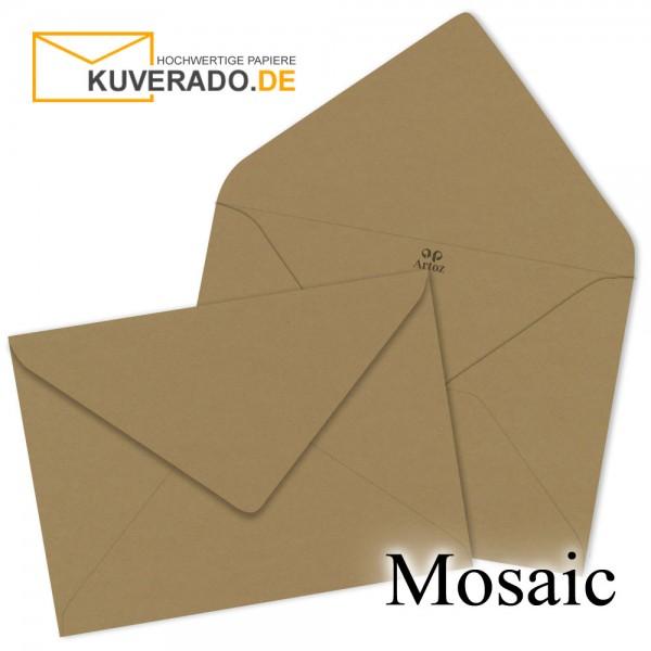 Artoz Mosaic naturbraune Briefumschläge DIN B6