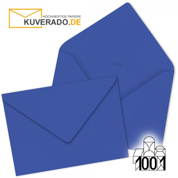 Artoz Briefumschläge majestic-blue DIN B6