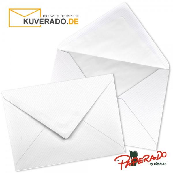 Paperado Briefumschläge in weiß DIN C6