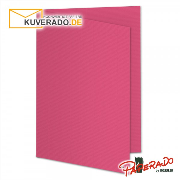 Paperado Karten in fuchsia rosa DIN A6