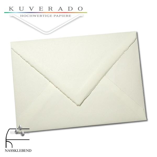 Briefumschläge aus Büttenpapier im Sonderformat 135x192 mm