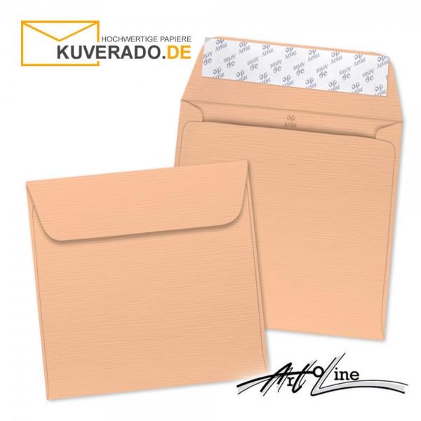 Artoz Artoline Briefumschlag in salm-rosa quadratisch