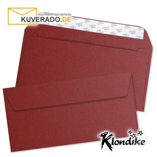 Artoz Klondike Briefumschlag in rubin-rot-metallic DIN C6/5