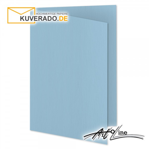 Artoz Artoline Karten/Doppelkarten in sky-blau DIN E6
