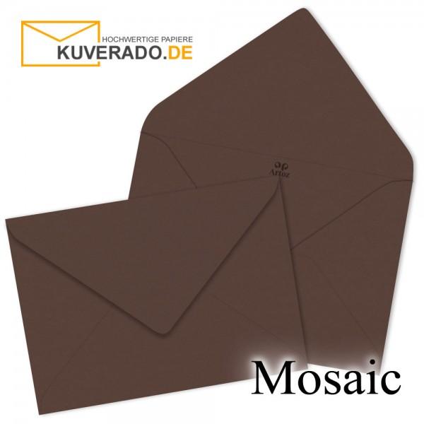 Artoz Mosaic dunkelbraune Briefumschläge DIN B6