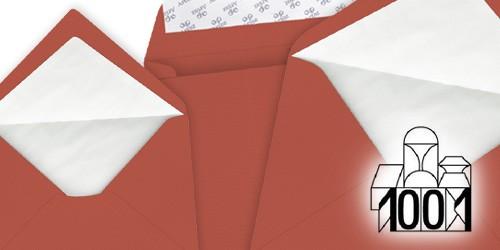 feuerrote Briefumschläge von Artoz Papier - 1001