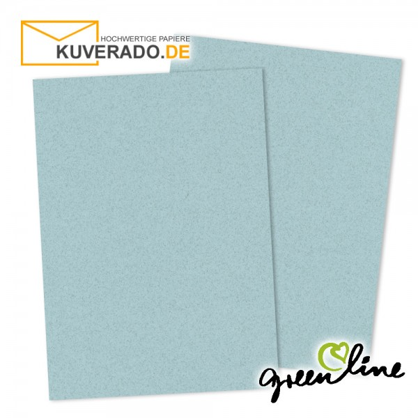 ARTOZ Greenline pastell | Recycling Briefkarton in misty-blue DIN A4