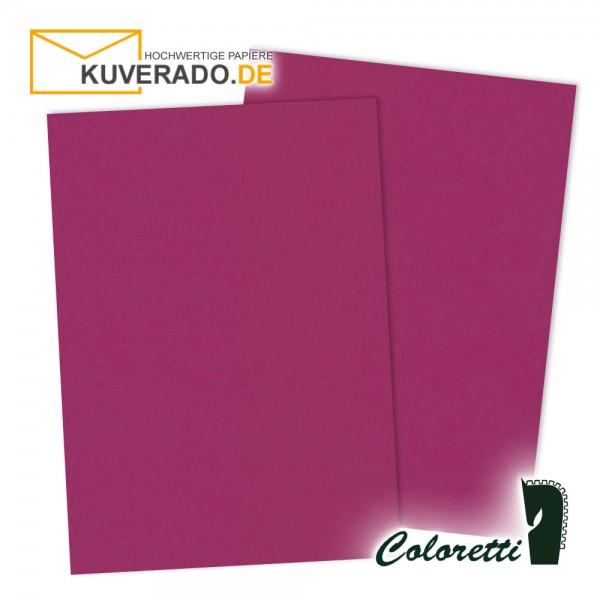 Lila Briefpapier in amarena 165 g/qm von Coloretti